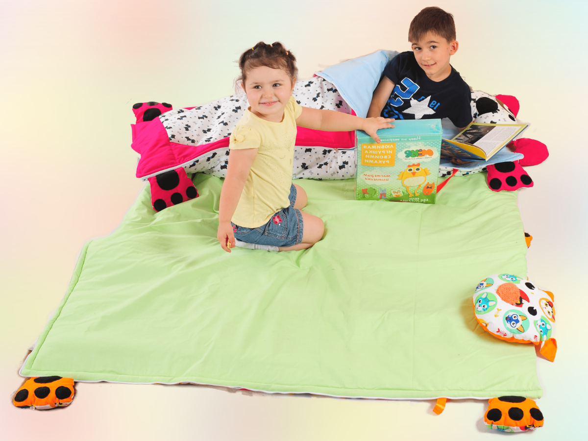 Production of children's textiles-blankets, pillows, mattresses, toys