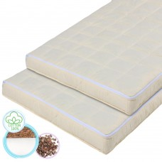 "Children's ortho-mattress ""Rainbow"" Coconut and Buckwheat milk color 60х120 cm"