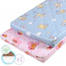 "Children's orthopedic mattress ""Fairy Tale 2"" with Coconut 60х120 cm"