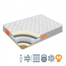 "Mattress Homefort ""Classic Luxe"" spring PocketSpring"