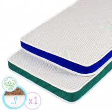 "Children's orthopedic mattress ""Twins S"" with Coconut 60х120 cm"