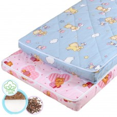 "Children's orthopedic mattress ""Fairy Tale 1"" Coconut and Buckwheat 60х120 cm"