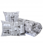 Комплект одеяло и подушка  Homefort «Дуэт Ньюс»
