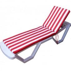 Mattress for Sun lounger Raincoat water repellent Homefort 60х180х5 cm