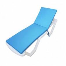 Deckchair mattress Oxford Homefort water-repellent 60х180х3 см
