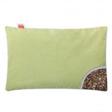 Подушка с Гречневой шелухой Homefort «Целительная» салатовый