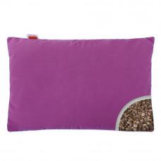 Подушка с Гречневой шелухой Homefort «Целительная» (пурпурный)