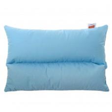 Подушка с Гречневой шелухой Homefort «Гера» (голубой)