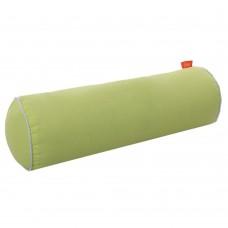 Подушка Валик с Гречневой шелухой Homefort (салатовый)