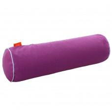 Подушка Валик с Гречневой шелухой Homefort (пурпурный)