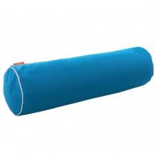 Подушка Валик с Гречневой шелухой Homefort (бирюзовый)