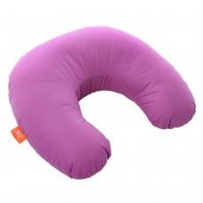 Подушка Дорожная с Гречневой шелухой Homefort (пурпурный)