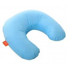 Подушка Дорожная с Гречневой шелухой Homefort (голубой)