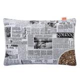 Подушка с Гречневой шелухой Homefort «Целительная» (газетный)