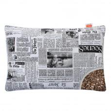 Подушка с Гречневой шелухой Homefort «Целительная» газетный