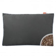 Подушка с Гречневой шелухой Homefort «Целительная» серый