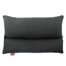 Подушка с Гречневой шелухой Homefort «Гера» (серый)