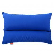 Подушка с Гречневой шелухой Homefort «Гера» (синий)