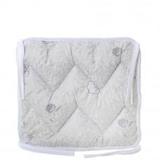 Подушка на стул с завязками «Классическая» Homefort 40х40х2 см d-7