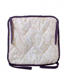 Подушка на стул с завязками «Классическая» Homefort 40х40х2 см d-8