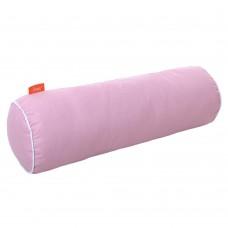 Подушка Валик с Гречневой шелухой Homefort (розовый)