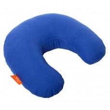 Подушка Дорожная с Гречневой шелухой Homefort (синий)