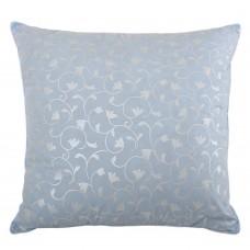 Подушка перьевая Homefort (голубой вензель)