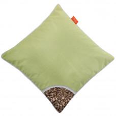 Подушка с Гречневой шелухой Homefort «Думочка» (салатовый)