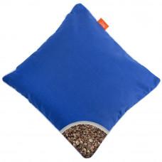 Подушка с Гречневой шелухой Homefort «Думочка» (синий)