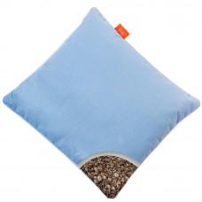 Подушка с Гречневой шелухой Homefort «Думочка» (голубой)
