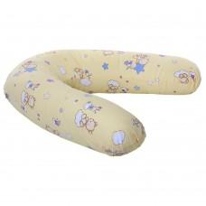 Подушка Homefort для беременных (желтый д-2)