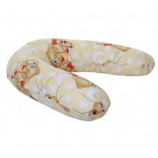 Подушка Homefort для беременных (бежевый д-2)