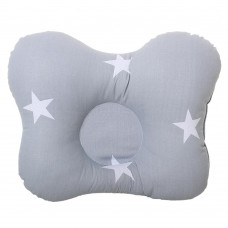 Подушка Homefort Бабочка (звезды серая)