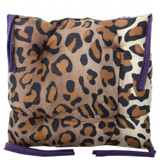 Подушка на стул с завязками «Классическая» Homefort 40х40х6 см (D-1)