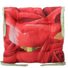Подушка на стул с завязками «Классическая» Homefort 40х40х6 см (D-3)