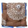 Подушка на стул с завязками «Классическая» Homefort 40х40х6 см (D-4)