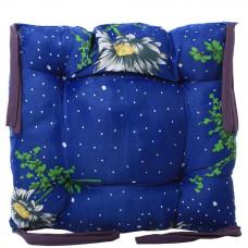 Подушка на стул с завязками «Классическая» Homefort 40х40х6 см (D-5)