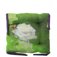 Подушка на стул с завязками «Классическая» Homefort 40х40х6 см (D-6)