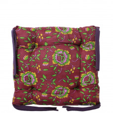 Подушка на стул с завязками «Классическая» Homefort 40х40х6 см (D-10)