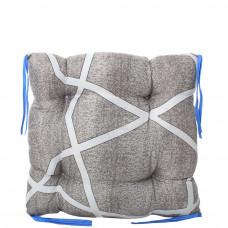 Подушка на стул с завязками «Классическая» Homefort 40х40х6 см (D-16)