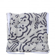 Подушка на стул с завязками «Классическая» Homefort 40х40х6 см (D-17)