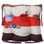 Подушка на стул с завязками «Классическая» Homefort 40х40х6 см (D-20)