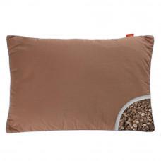 Подушка с Гречневой шелухой Homefort «Целительная» (коричневый)