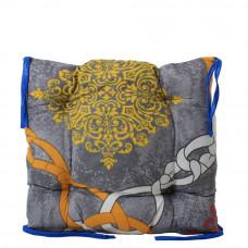Подушка на стул с завязками «Классическая» Homefort 40х40х6 см (D-21)