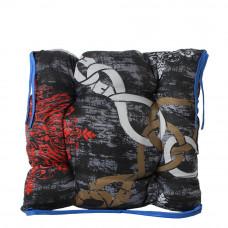 Подушка на стул с завязками «Классическая» Homefort 40х40х6 см (D-22)