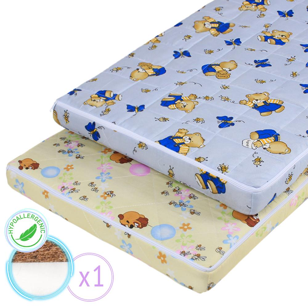 "Baby mattress ""Baby 2"" with Coconut 60х120 cm"